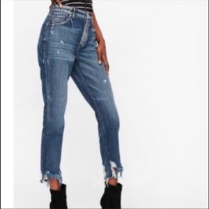 New high waisted high rise jeans